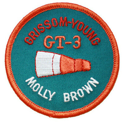 Gemini 3 Mission Embroidered Patch (Official Patch) 7.5cm Dia approx