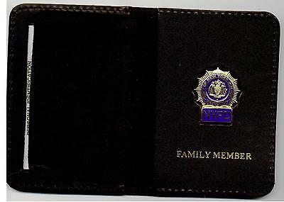 Detective's Family Member Wallet with Union Mini Badge included