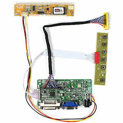 DVI VGA Lcd Controller board work for 17Inch B170PW02 N170C2 1440x900 lcd panel