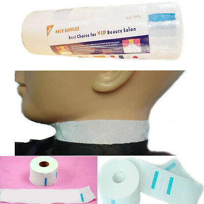 Professional Neck Ruffle Roll Hair Cutting Salon Barbers Hairdressing Collar NEW
