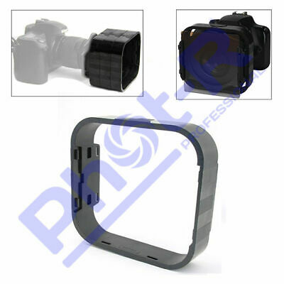 Phot-R P255 Square Modular Camera Lens Hood for Cokin Filter Holder Adapter