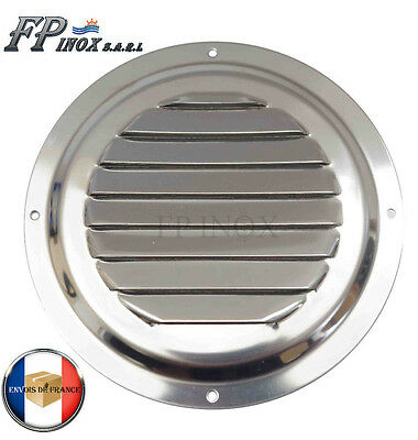 Grille Ronde 152 mm inox 316 Grille aération