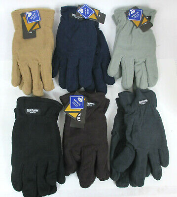 For Men Or  Women-  Winter Warm Fleece Thermal Insulation Gloves One Size