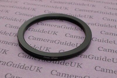 77mm to 67mm 77mm-67mm Stepping Step Down Filter Ring Adapter