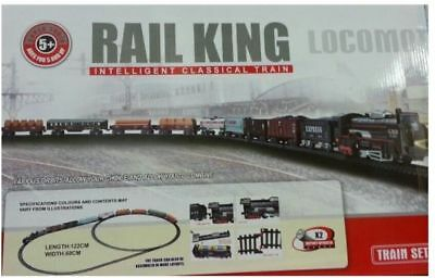 Train Set Rail King Intelligent Classical Train, Complete Circuit  Free P&P