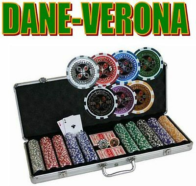 SET Professionale POKER 500 Fiches/Chip ULTIMATE POKER MS 12gr