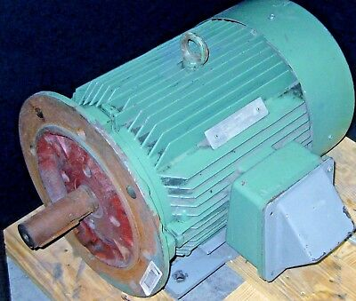 Elektrim 15Hp Xp Motor 1770 Rpm 3 Phase 254T Frame Used Sold As Is