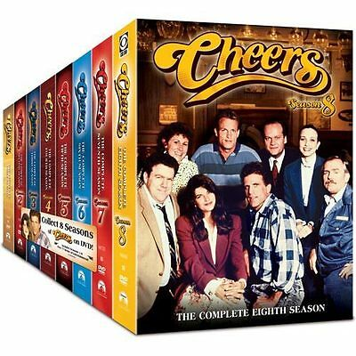 Cheers - The Complete Series (DVD, 2009, 45-Disc Set, Sensormatic Packaging)
