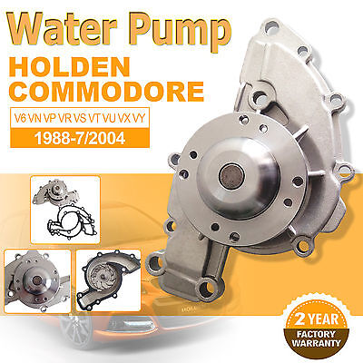 Water Pump For Holden V6 Commodore VN VP VR VS VT VU VX VY 3.8L Gasket 88-7/04