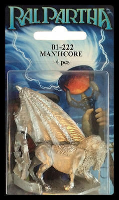 RAL PARTHA 01-222 WINGED MANTICORE NISB ( d & d, reaper, dungeons & dragons )