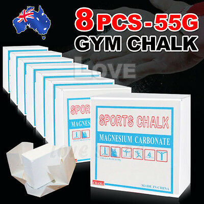 OZ Lifting Weight Gym Chalk Magnesium Carbonate Gymnastic Climbing Athletics