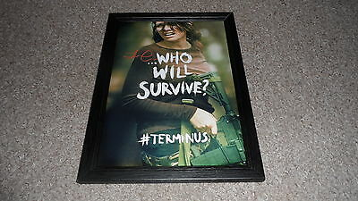 "The Walking Dead : Maggie Pp Signed & Framed 12X8"" Photo Poster Lauren Cohan"
