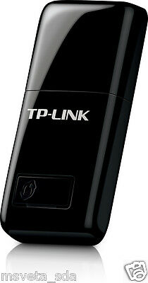 TP-LINK TL-WN823N 300Mbps Mini WiFi B/G/N USB Adapter Dongle Win 8 WPS Button