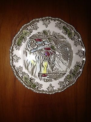 """Vintage Johnson Brothers The Sugar Maples 6"""" Plate England  ( #112)"""