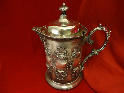 Forbes Silver Co. Silverplate Lined Water Jug
