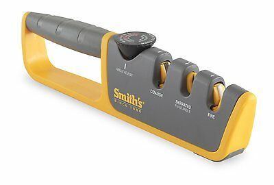 Smith`s 50264 Adjustable Manual Knife Sharpener , New, Free Shipping