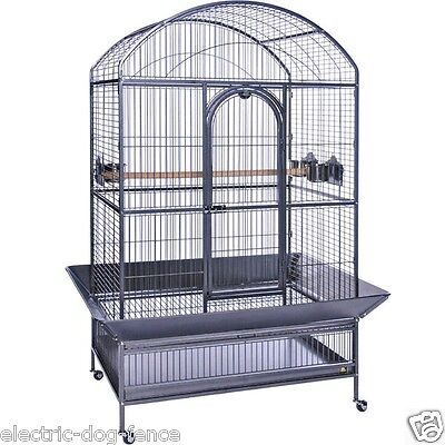 """Large Dometop Parrot Bird Cage 41"""" Wide x 28"""" Deep x 72"""" Tall by Prevue Hendryx"""