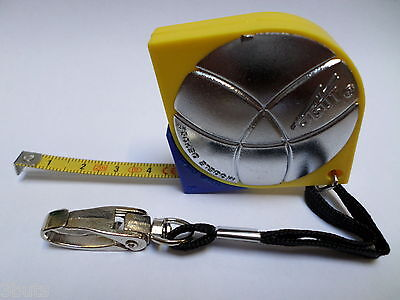 Obut Steel Rule Tape Measure 2-Meter Key Hanger For Petanque Boules Bocce Ball