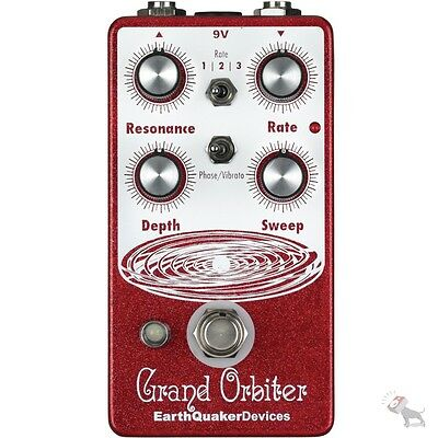 Earthquaker Devices Grand Orbiter Phase Machine Guitar Effects Pedal + Vibe Mode
