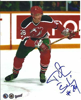 Peter Stastny Autographed Signed Hockey Photo 8x10 New Jersey Devils