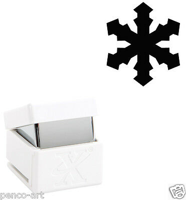 """Xcut ICY SNOWFLAKE palm hole hand punch Cut card up to 300gsm Choose 3/8"""" or 1"""""""