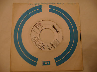 "DEEP PURPLE""YOU KEEP ON MOVING-disco 45 giri HARVEST It 1975"" Ed JB"