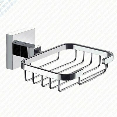 Arian Pro - Bathroom Accessory - Square Soap Dish Basket Tray Chrome