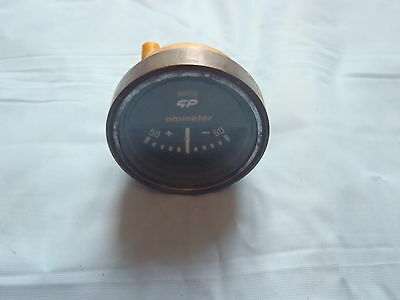 SMITHS AMMETER ESCORT ETC GENUINE SMITHS GP AMMETER in fine Clean Order