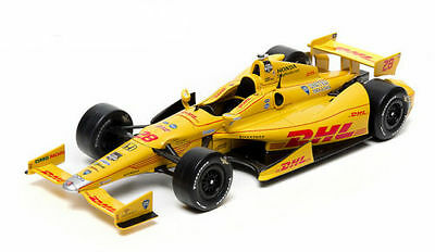 Ryan Hunter-Reay 2014 Indy 500 Winner Diecast Model 1/18 by Greenlight