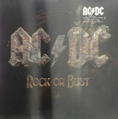 AC/DC Rock Or Bust With vinyl LP + CD in lenticular sleeve NEW/SEALED