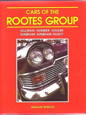 CARS ROOTES GROUP GRAHAM ROBSON HILLMAN HUMBER SINGER SUNBEAM TALBOT 1930-1970s