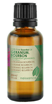 Naissance Geranium, Bourbon Essential Oil Use in Aromatherapy, Massage Blend