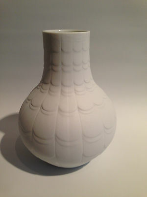 Big OP Art Design Vase Scherzer 505 2 Mattes Relief