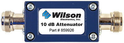 Wilson 859926 10 dB Attenuator with N Female Connectors 859926