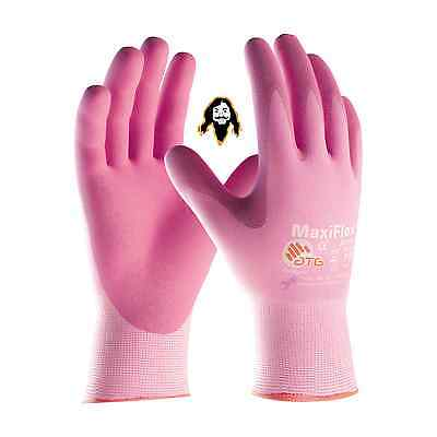ATG MaxiFlex Active G-tek Gloves With Aloe & Vitamin E Infused, 1, 3, or 6 pair