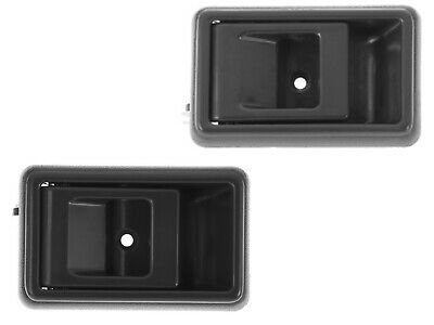 For Toyota Tacoma 95 -00 Corolla 83-92 4runner 90-95 Inner Gray Door Handle Pair