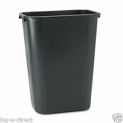 Black Rubbermaid Soft Molded Plastic Office Home Kitchen Trash Cans