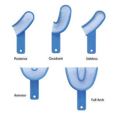 36 pcs dental disposable 3 in 1 impression tray (Sideless)