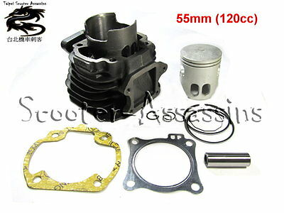 120cc BIG BORE KIT for SYM jet 100