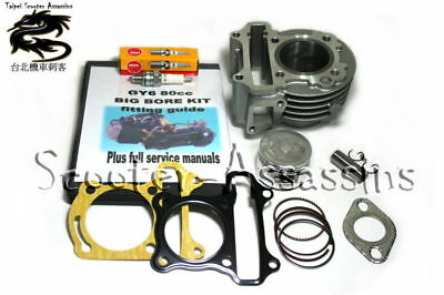 80cc BIG BORE CYLINDER KIT for LIFAN Scooters