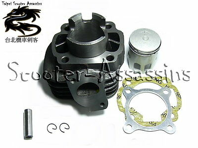 50cc CYLINDER KIT for MALAGUTI F15 Firefox 50 2 Stroke (air Cooled) 2004  on