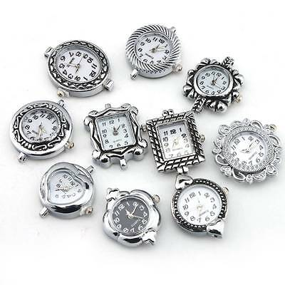 Quartz Watch Faces Round On Sale Alloy 10 Assorted Styles Findings Elegant
