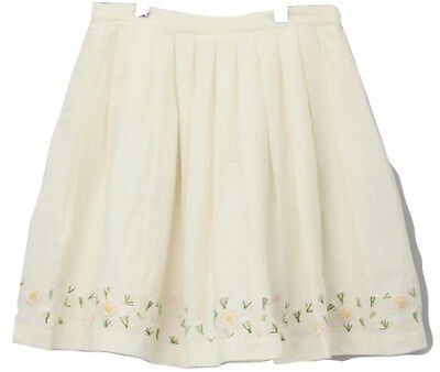 FRENCH CONNECTION DAISY WHITE SKIRT 5-6YRS - New