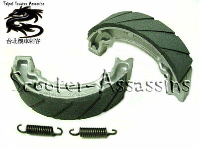 BRAKE SHOES for YAMAHA YZ 250 J/K/L/N/S/T 81-87 Rear XT 350 85-90 Rear VMS-11