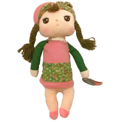 """11.8"""" Adorable Cute Kids Me Too British Country Girl Stuffed Plush Soft Toy Doll"""