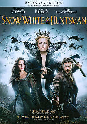 Snow White and the Huntsman (DVD 2012)  Mint ~ Complete