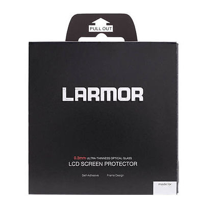 LARMOR GGS Self-Adhesive Optical Glass LCD Screen for SONY A6000/A6300 uk seller