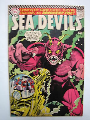 Sea Devils #31 (Sep-Oct 1966, DC) [FN+ 6.5]