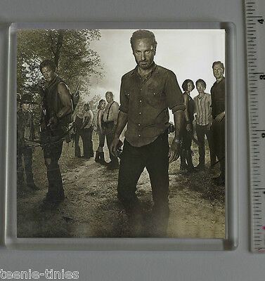 The Walking Dead - Cast - Clear Acrylic Coasters - Perfect Present