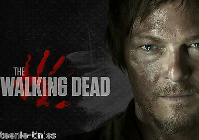 Daryl - The Walking Dead A4 Laminated TABLE PLACE MAT - ADD YOUR NAME